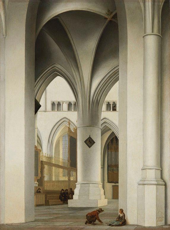 Pieter Saenredam - L'église Saint-Bavon à Haarlem