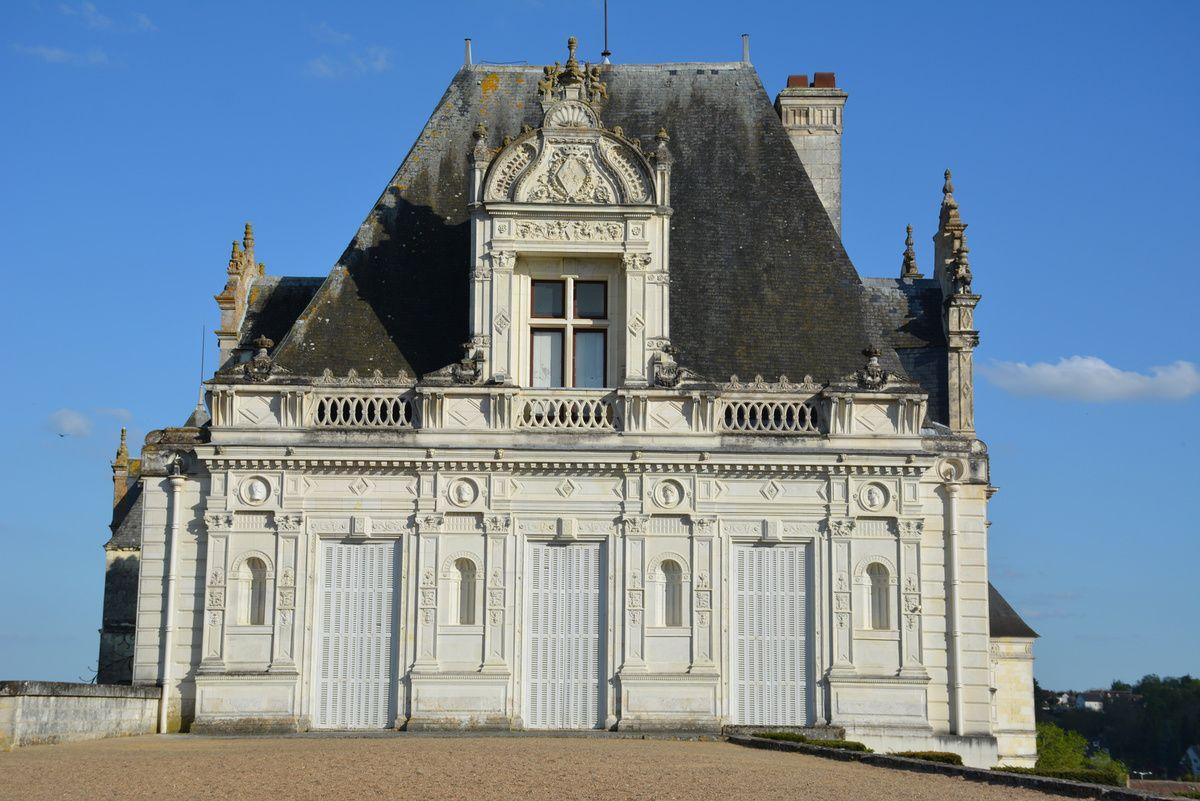 Châteaux de la Loire - Château de Saint Aignan - Photos: Lankaart (c)