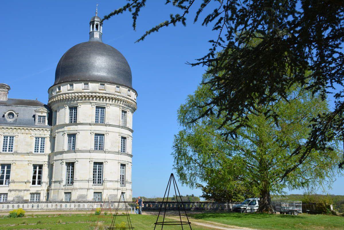 Châteaux de la Loire - Parc et jardins du Château de Valançay - Photos: Lankaart (c)