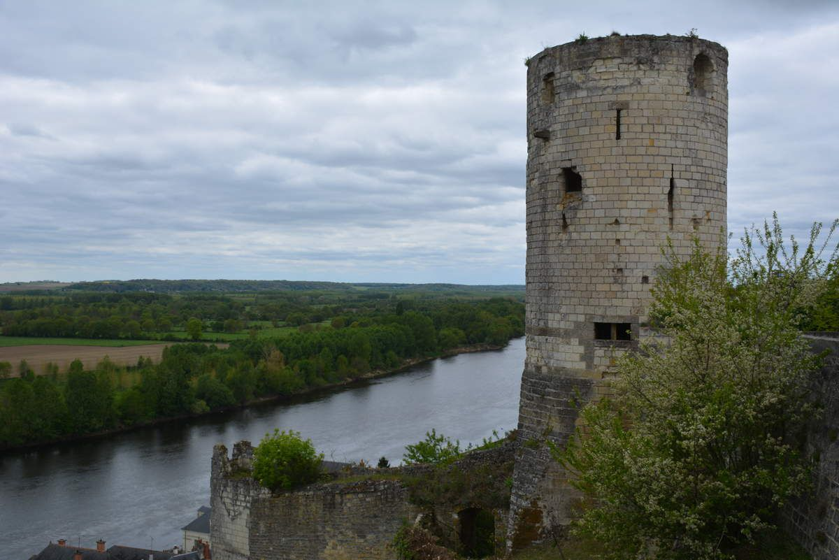 Château de Chinon - Photos: Lankaart (c)