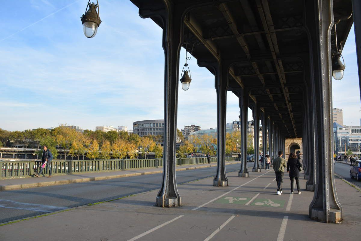 Paris - Pont de Bir-Hakeim - Photos: Lankaart (c)