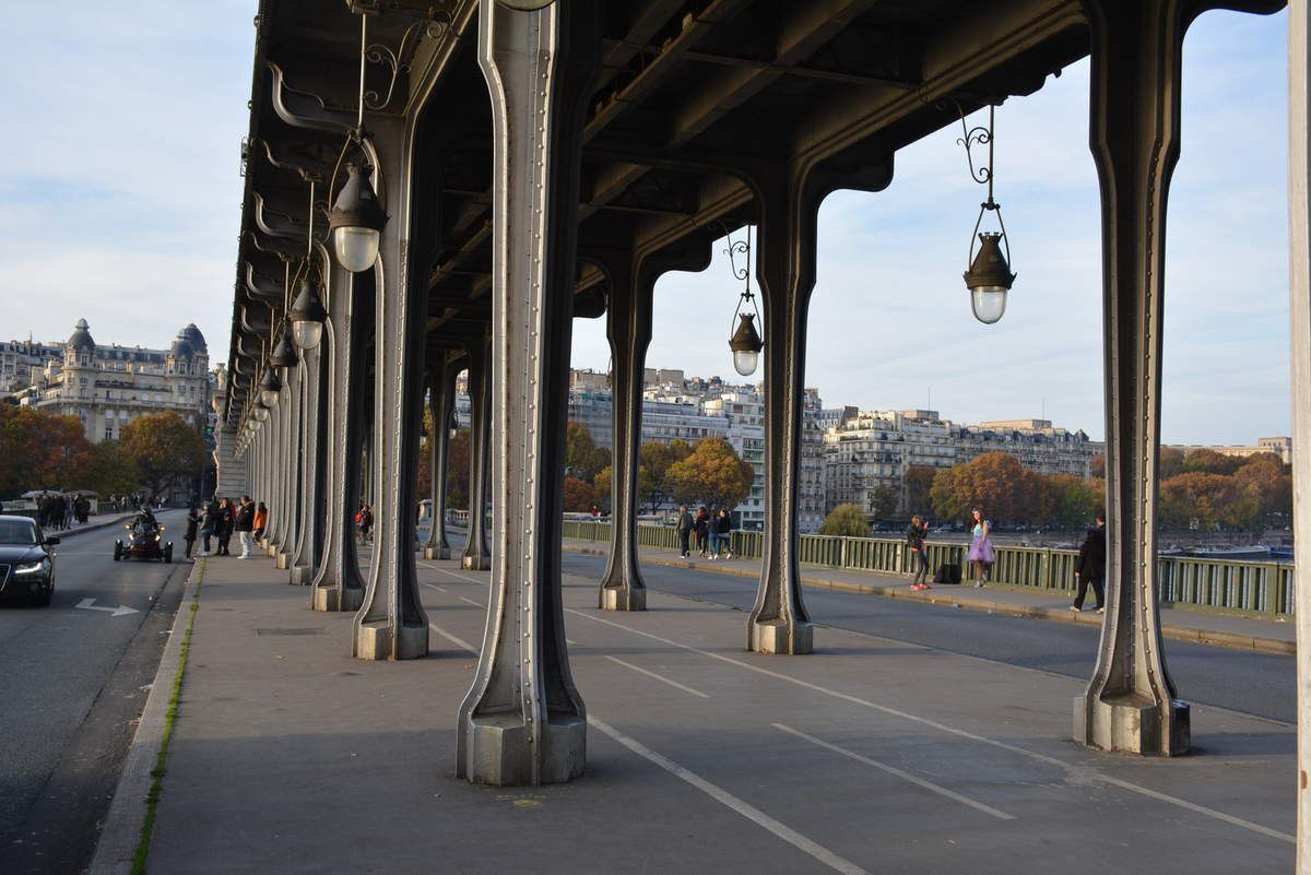 Paris - Pont de Bir-Hakeim - Photo: Lankaart (c)
