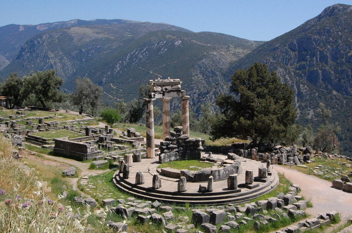 Greece - Delphi - Photo: Lankaart (c)