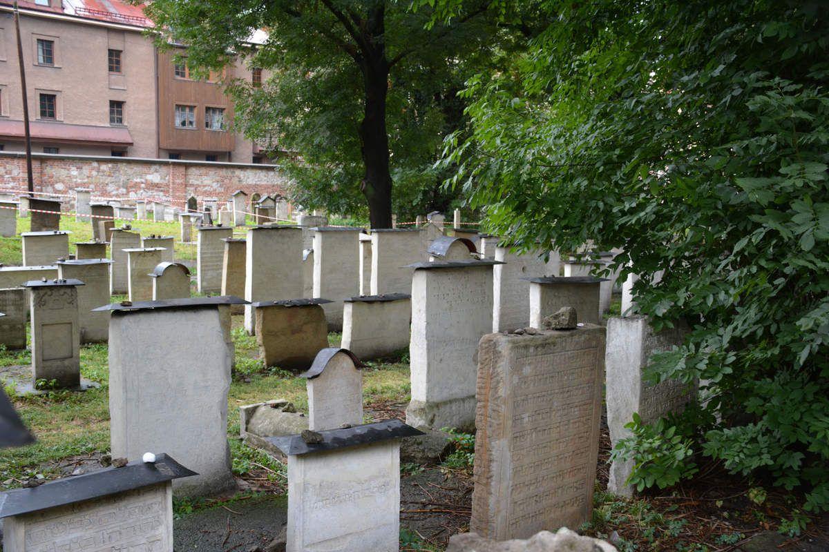 Cracovie - Cimetière juif - Photos: Lankaart (c)