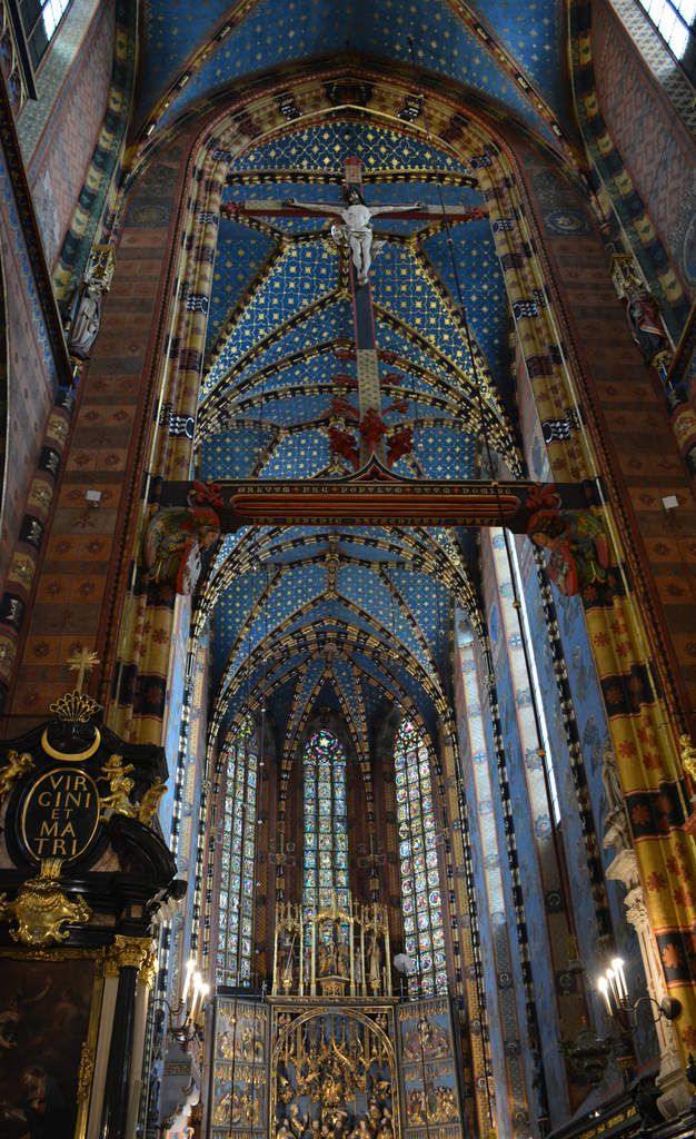 Cracovie - Eglise Sainte-Marie - Bazylika Mariacka - Photos: Lankaart (c)