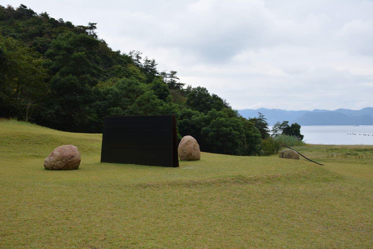 Musée Lee Ufan, Naoshima - Japon - Architecte Tadao Ando - Photos: Lankaart (c)