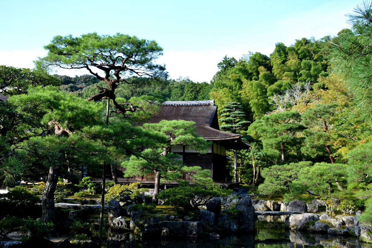 Kyoto - Ginkaku-ji (Silver Pavilion) - Pavillon d'Argent - Photos: Lankaart (c)