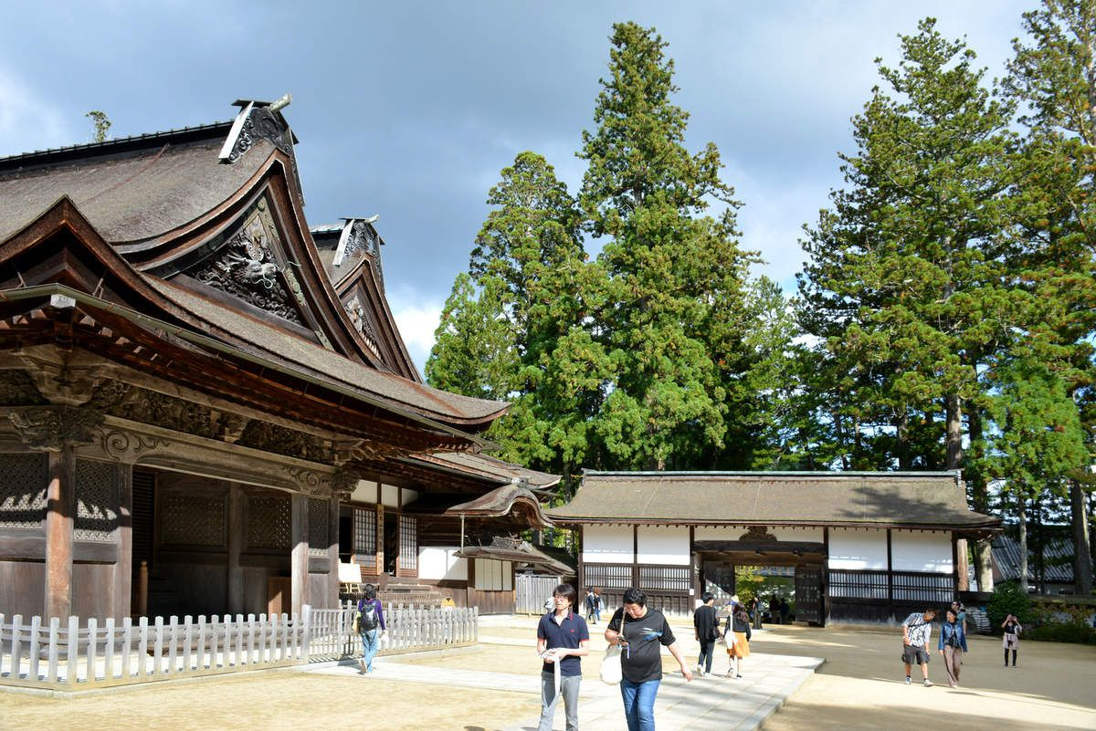 Koya-san - Temple Kongōbu-ji - Photos: Lankaart (c)