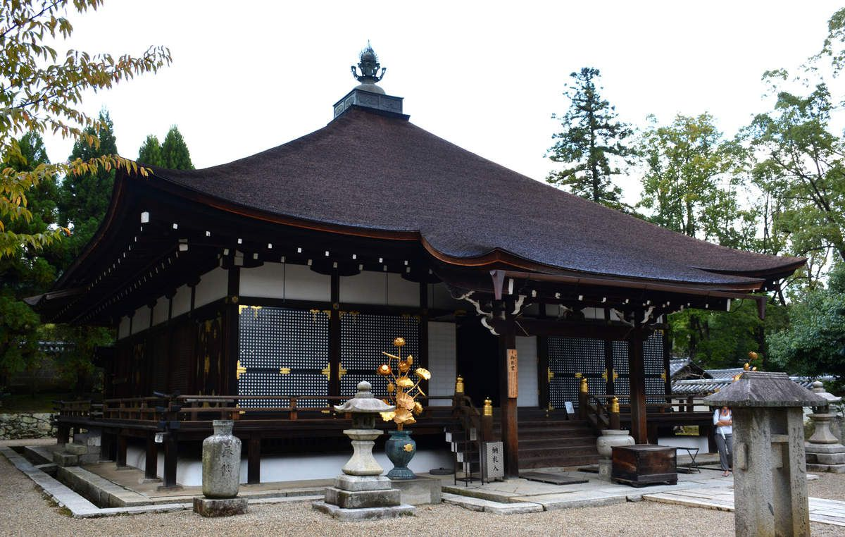 Kyoto - Ninnaji - Temple Mie-do - Photos: Lankaart (c)