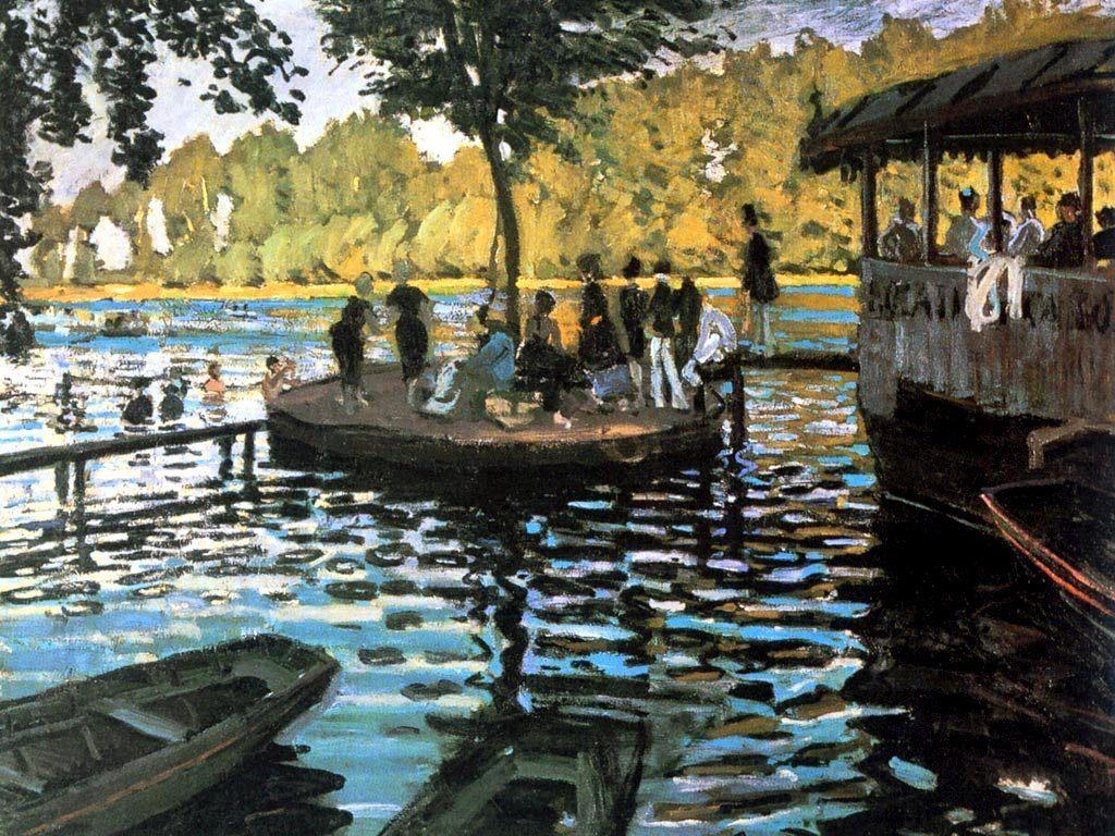 Monet - La Grenouillère