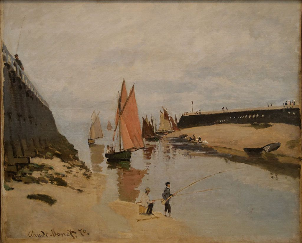 Monet - Trouville