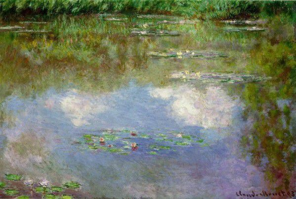 Monet - Les Nympheas