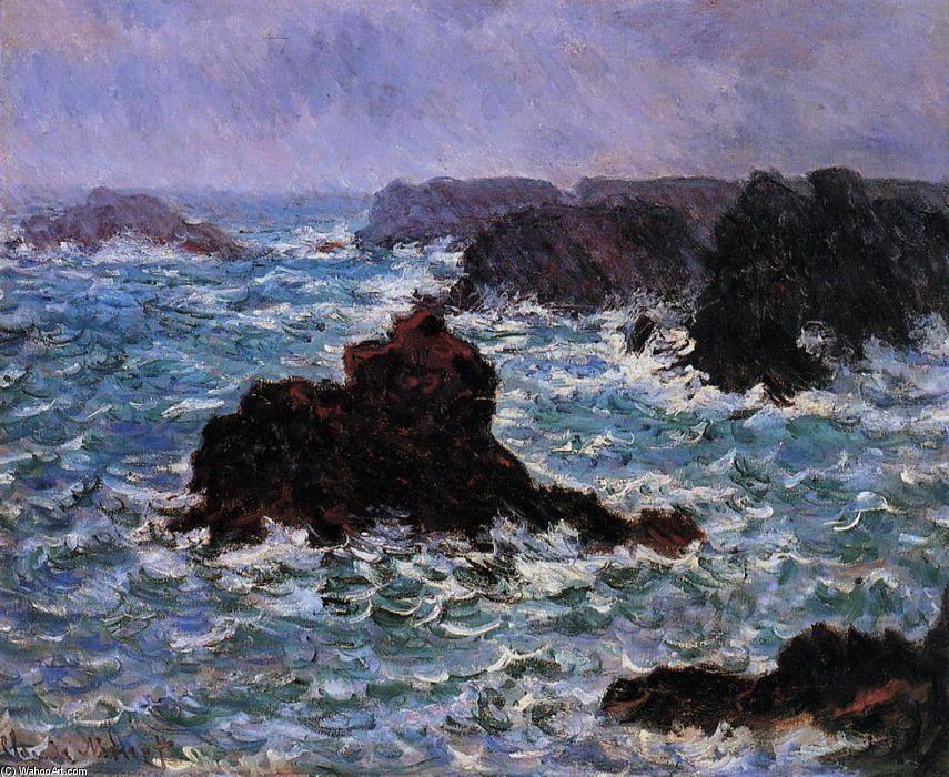 Monet - Belle Ile
