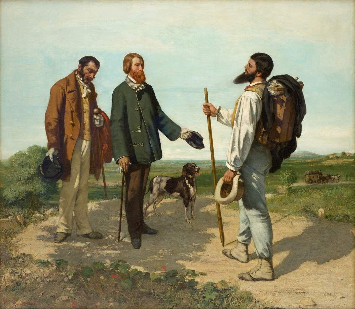 Courbet - Bonjour Monsieur Courbet - Musée Fabre Montpellier