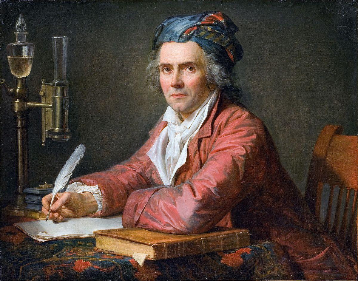 David - Portrait du médecin Alphonse Leroy