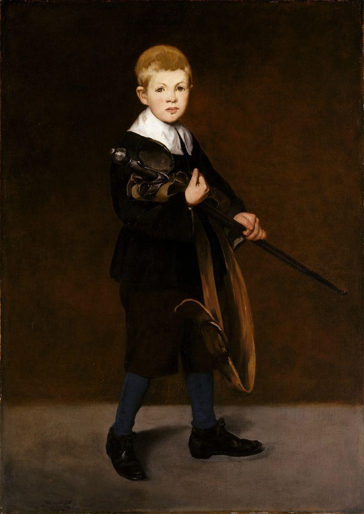 Manet - L'enfant à l'épée