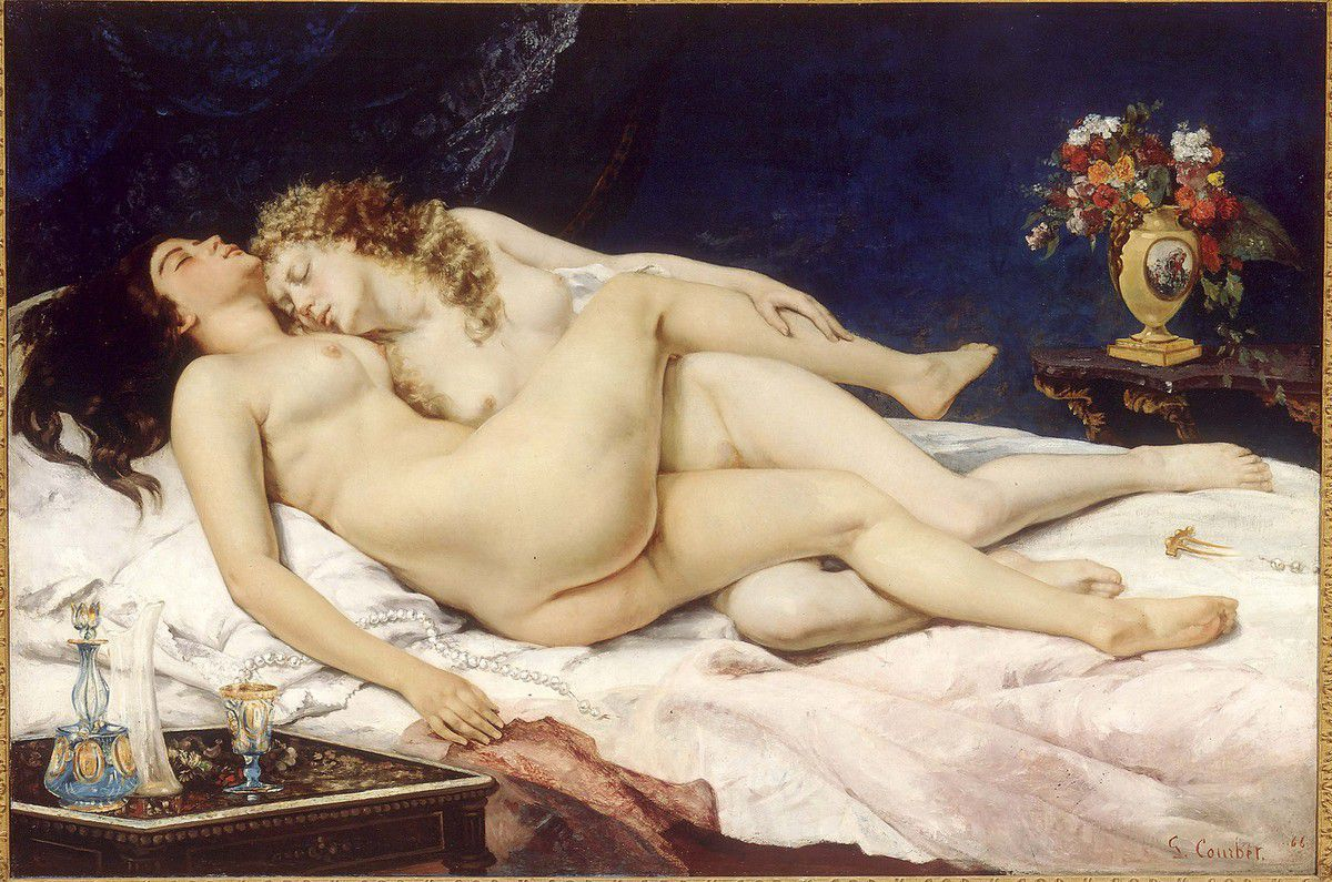 Courbet - Sommeil