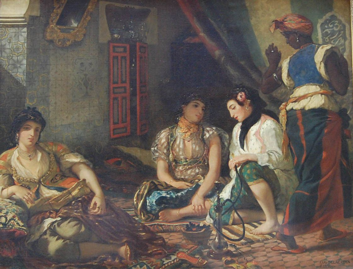 Delacroix - Femmes d'Alger