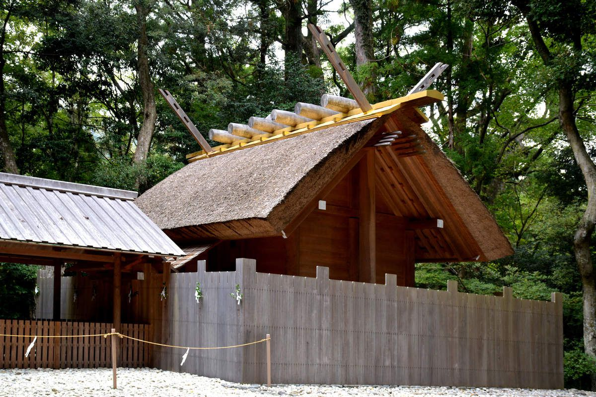 Ise - Sanctuaire Shinto - Japon - Photos: Lankaart (c)