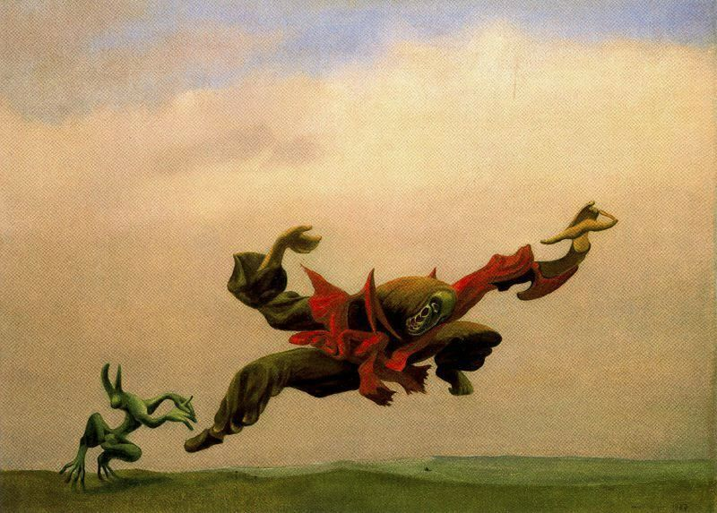 Max Ernst - L'Ange de la Mort