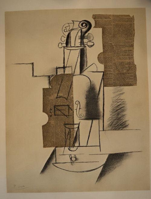 Picasso - Papiers collés