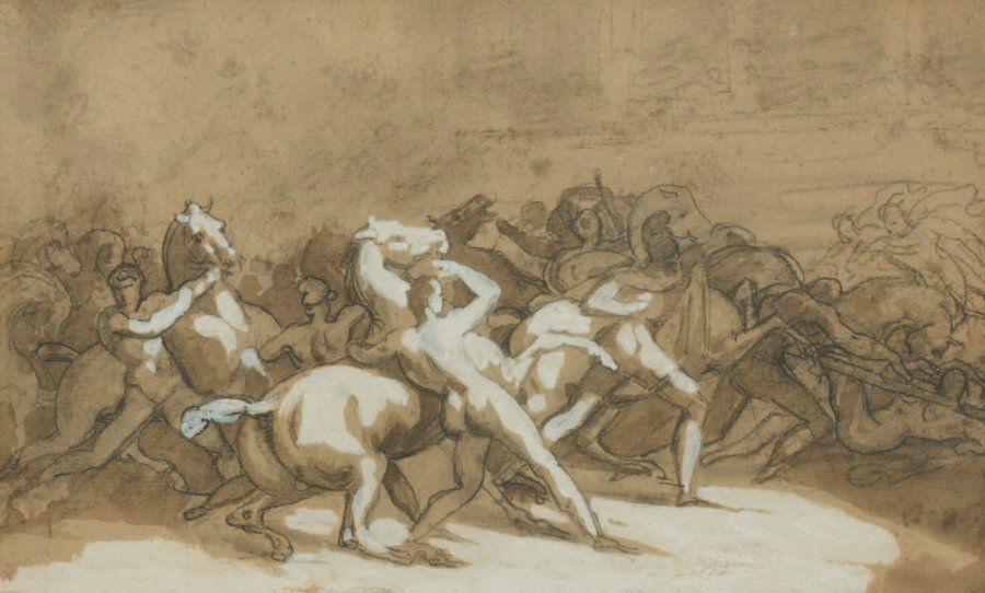 Géricault - La course des Barberi