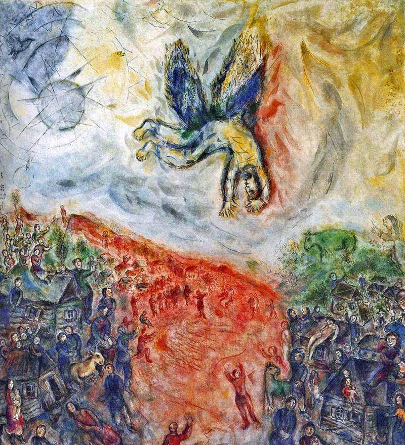 Chagall - La Chute d'Icare