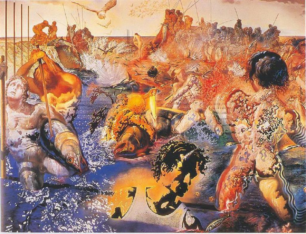 Dali - La pêche aux thons - 1967