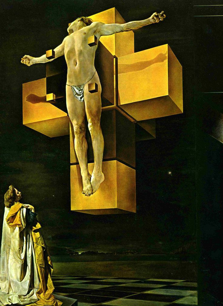 Dali - Corpus Hypercubicus - 1954