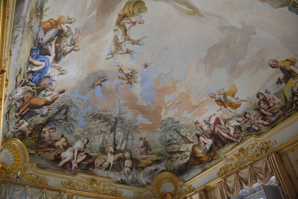 Pavillon de chasse de Stupinigi - Turin - Photos: Lankaart (c)