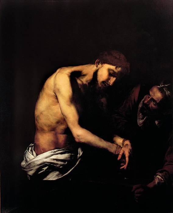 Ribera - Christ flagellant