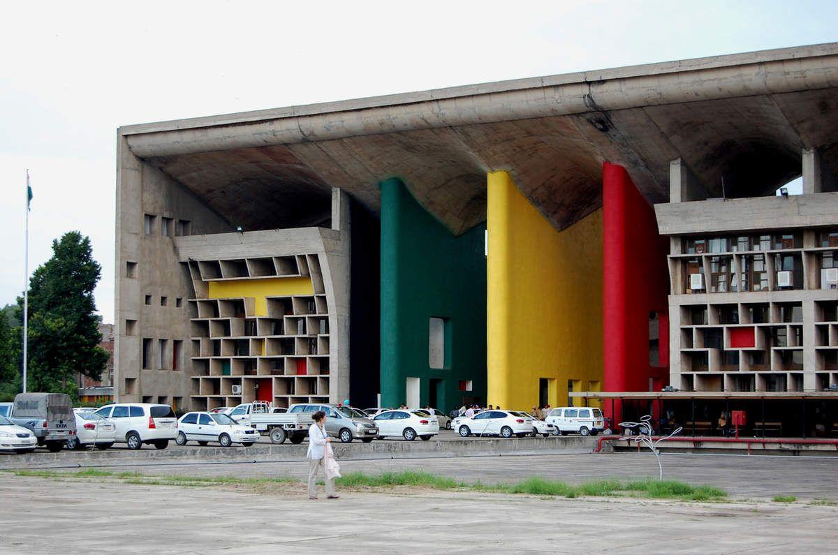 Le Corbusier - Ministère de La Justice Chandigarh - Photos: Lankaart (c)
