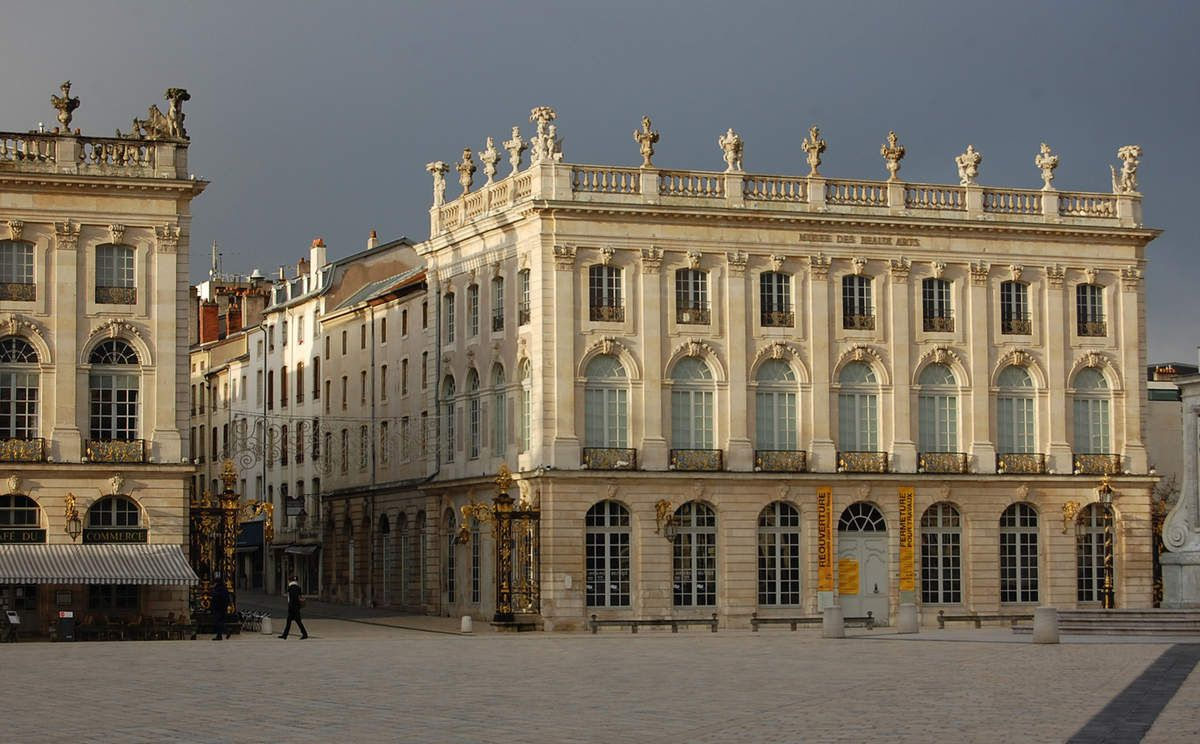 Hôtel de la Reine et Arc Héré - Nancy - Photos: Lankaart (c)