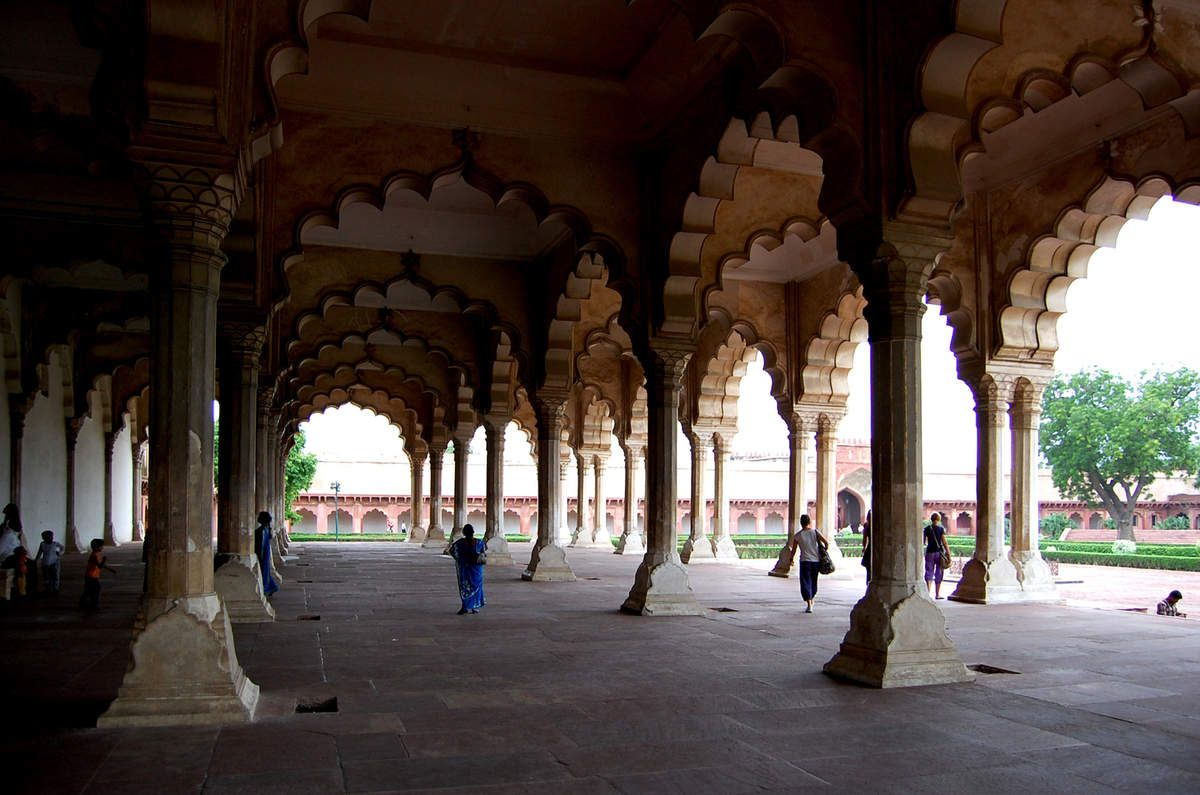 Agra - Fort Rouge - Photos: Lankaart (c)