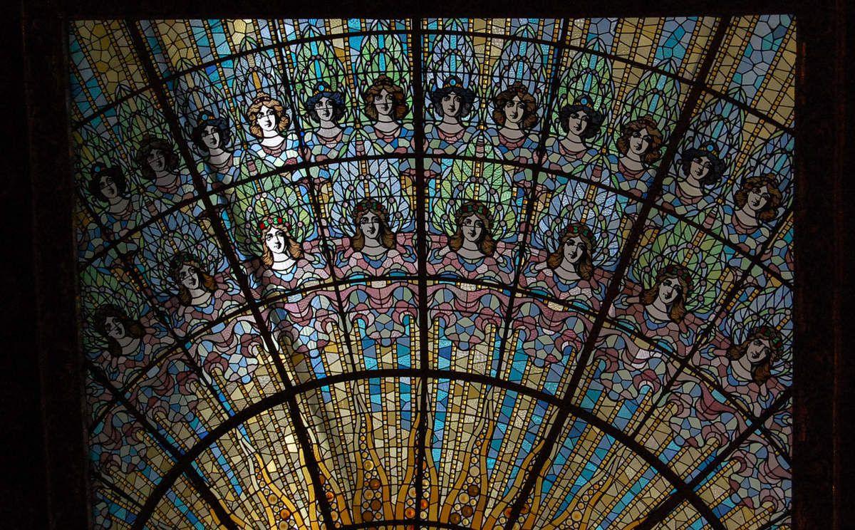 Palacio de la musica - Lluís Domènech i Montaner - Photos: Lankaart (c)