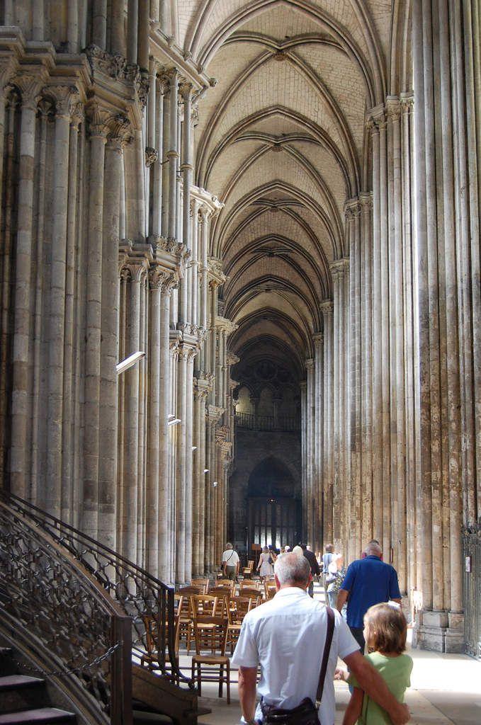 Rouen - Cathédrale - La Nef - Photos: Lankaart (c)