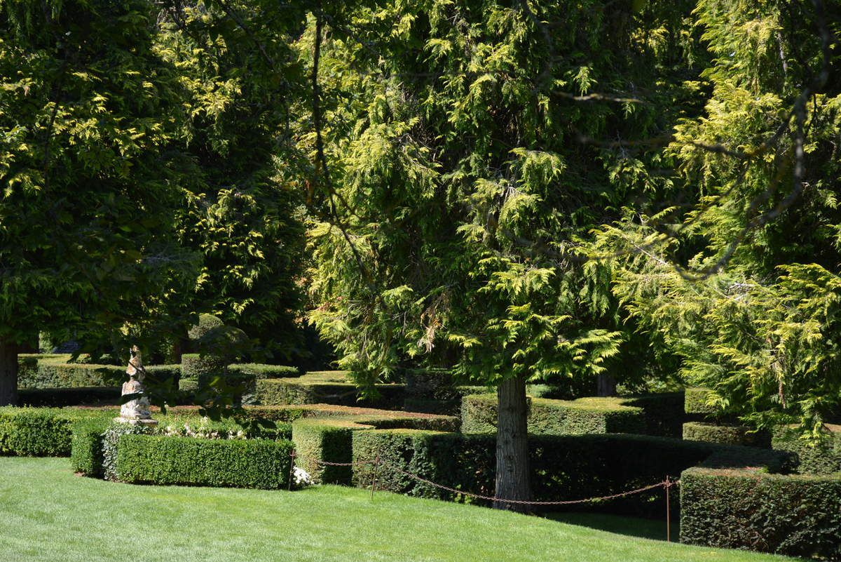 Dordogne - Jardins d'Eyrignac - Entrée - Photos: Lankaart (c)