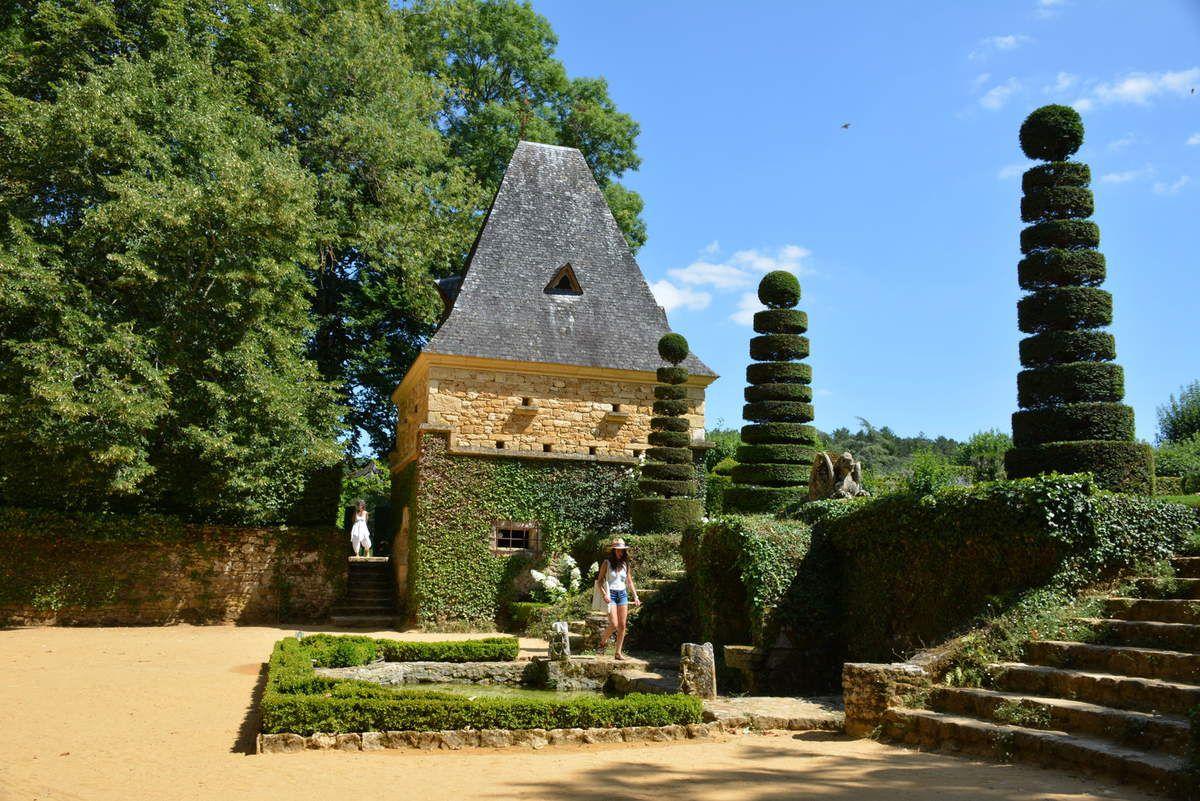 Dordogne - Jardins d'Eyrignac - Le Château - Photos: Lankaart (c)