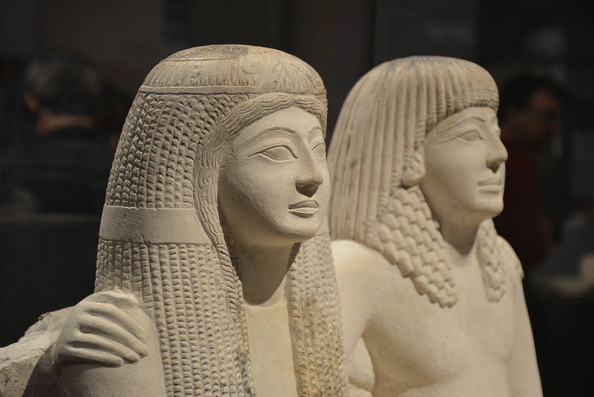 Pendua et Nefertari - XIXe dynastie - Turin - Photos: Lankaart (c)