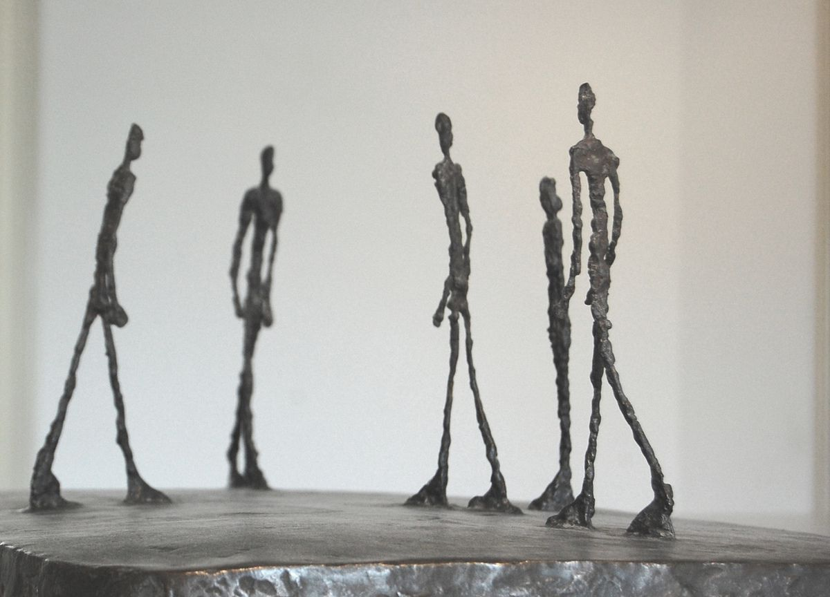Giacometti - Groupe - Photos: Lankaart (c)