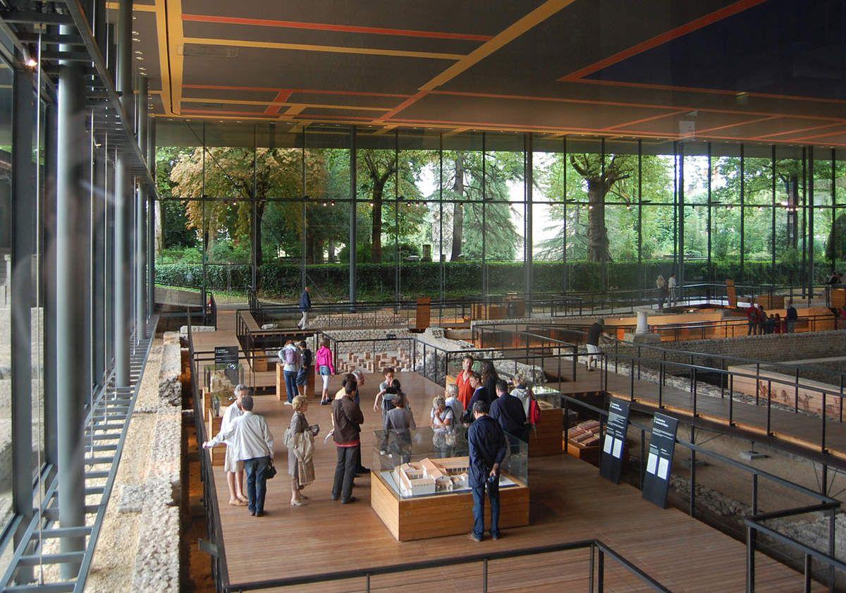 Jean Nouvel - Musée Vesunna - Dordogne - Photos: Lankaart (c)