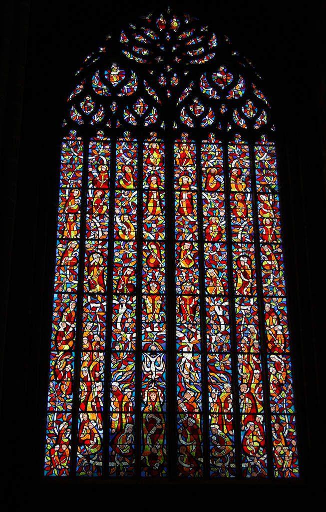 Bretagne - Cathédrale Saint-Tugdual de Tréguier - La Nef - Photos: Lankaart (c)