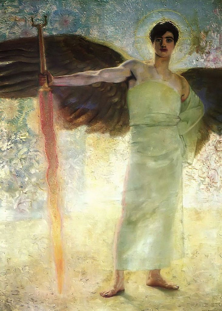 Franz Stuck - Le gardien du Paradis - The Guardian of Paradise