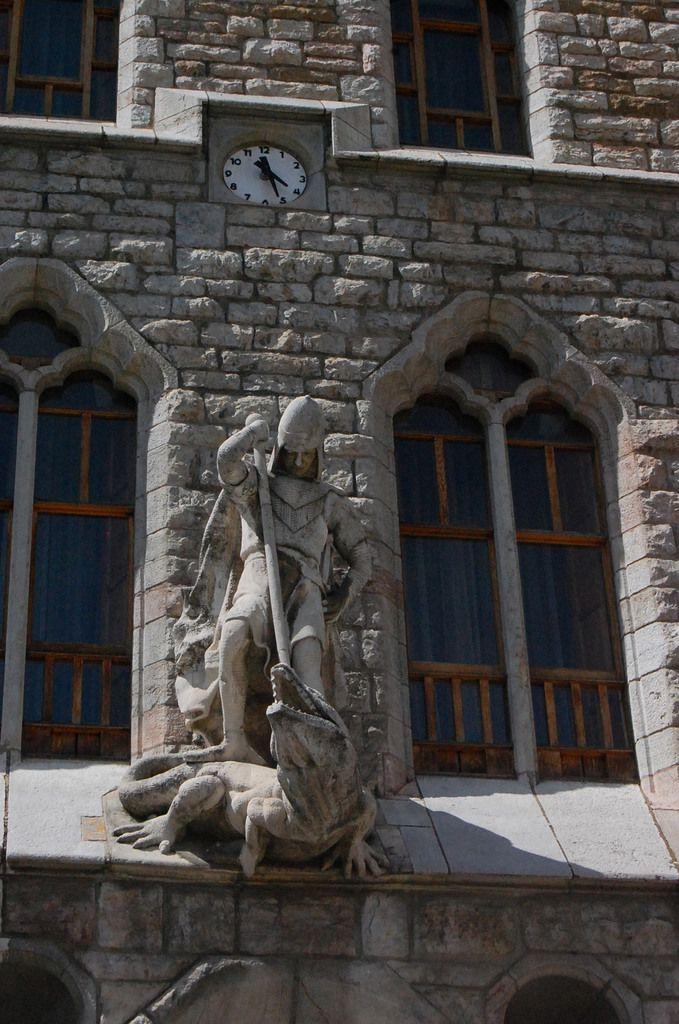 Gaudi - Casa Botines - Leon - Photos: Lankaart (c)