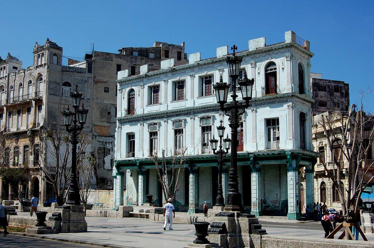 la Havane - Balade architecturale dans la ville - Photos: Lankaart (c)