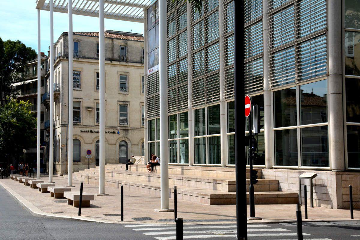 Norman Foster - Carré d'Art - Nîmes - Photos: Lankaart (c)