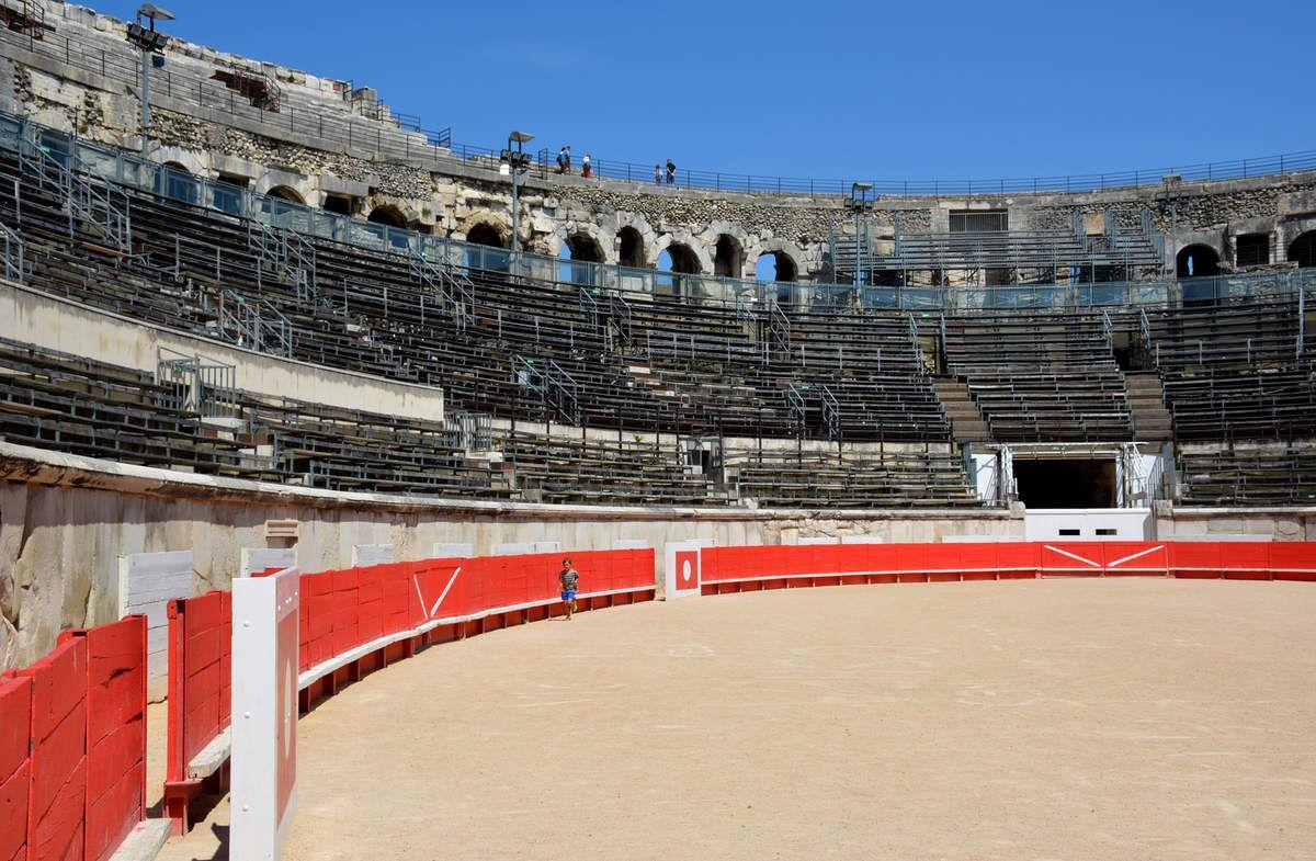 Nîmes - Les Arênes - Photos: Lankaart (c)