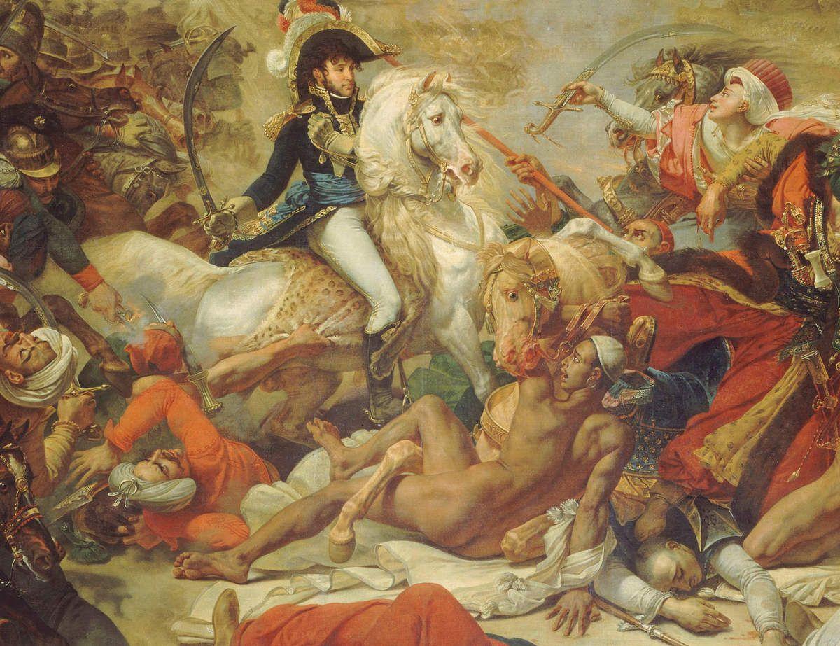 Antoine-Jean Gros- La Bataille d'Aboukir - détails