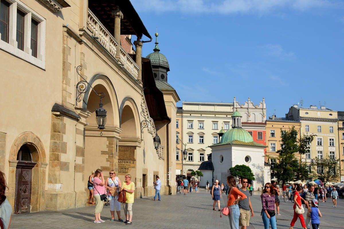 Cracovie - Rynek Główny - Place du marché principal - Photos: Lankaart (c)