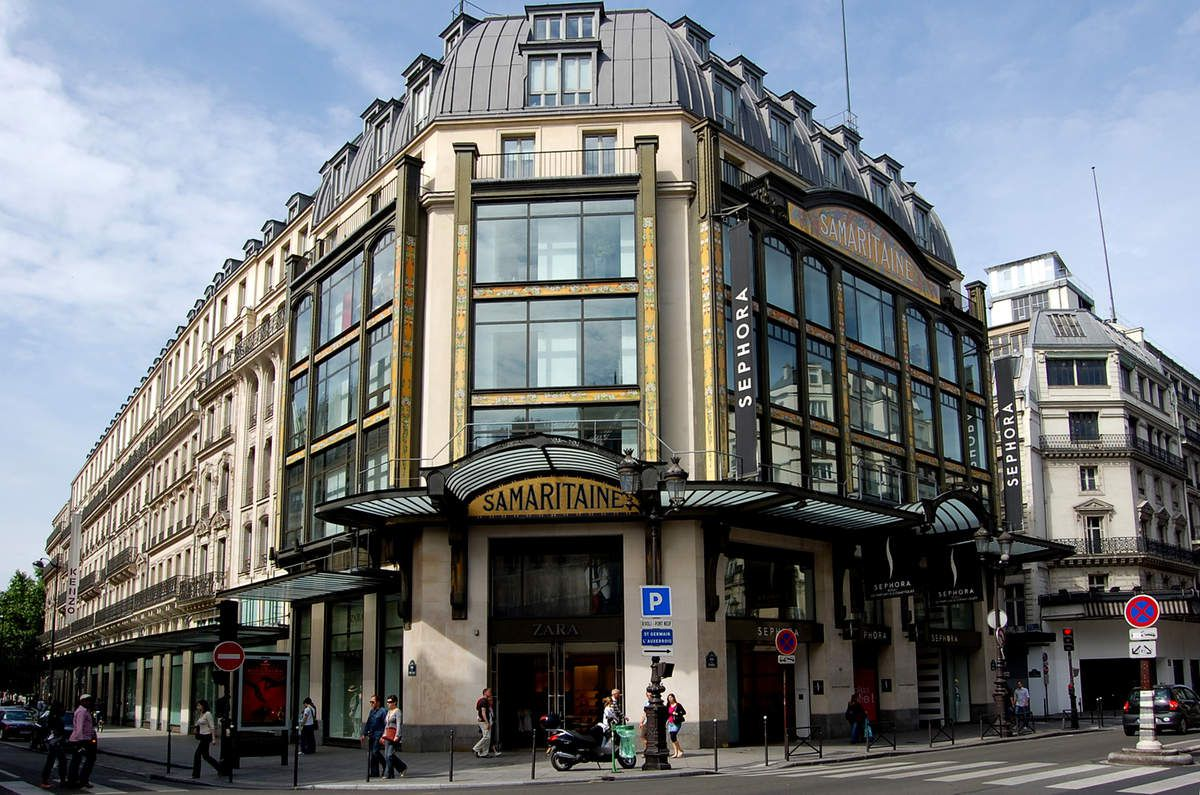 Frantz Jourdain - Paris - La Samaritaine - Magazin rue de Rivoli - Photo: Lankaart (c)